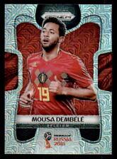 2018 Panini Prizm World Cup Prizms Mojo #19 Mousa Dembele Belgium (ref 32175)