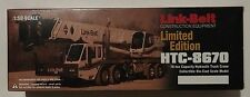 NZG Link-Belt HTC 8670 New in Box 1/50 scale Diecast Limited Edition #176 Crane