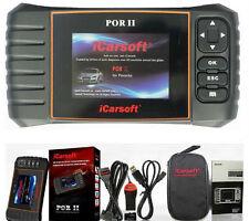 PORSCHE iCarsoft POR II Diagnostic Scanner Reset Tool SRS ABS ENGINE BRAKE RESET