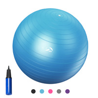 Yoga Exercise Ball Stability Balance Ball for Gym Balance Trainer w/Air Pump