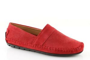 Espadrilles Man Summer Shoes Made IN Italy Suede Blue Leather Jeans Red Beige