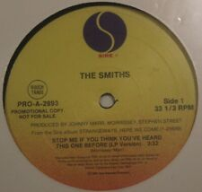 "The Smiths ‎– Stop Me If You Think You've Heard This One Before - 12"" - Promo"