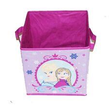 Disney Frozen Elsa & Anna Collapsible -Toy Toddler/ Nursery Organizer - lavender