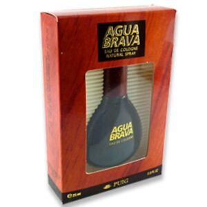 Agua Brava PUIG Eau De Cologne Natural Spray 25ml EDT - Very Original Spagna Par