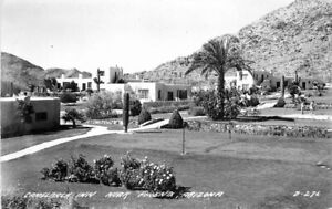 Camelback Inn roadside Phoenix Arizona D-276 RPPC Photo Postcard Cook 20-5324