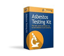 DIY Asbestos Testing Kit X 1 with UKAS laboratory test result (home sampling)