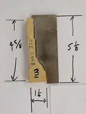 Shaper Moulder Custom Corrugated Back Cb Knives For 4 58 Casing