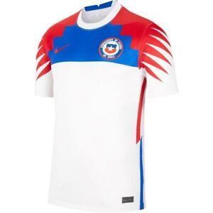 Nike Chile 2020/21 Stadium Away Soccer Futbol Jersey CD0690-100 size 2XL