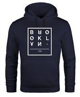 Hoodie Herren Brooklyn New York City Urban Kapuzen-Pullover Männer Neverless®