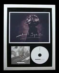 DAVID SYLVIAN+SIGNED+FRAMED+SECRETS OF BEEHIVE=100% AUTHENTIC+FAST GLOBAL SHIP