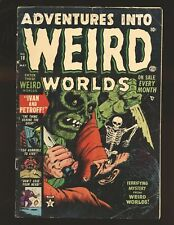 Adventures Into Weird Worlds # 18 Good+ Cond. cover detached