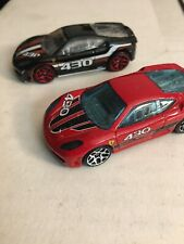 Hot Wheels Ferrari F430 Lot 2 Loose W/ Mystery & 5 Pack Exclusive