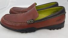 Cole Haan Brown Moc Toe Slip on Loafers Women's US 8AA D18042
