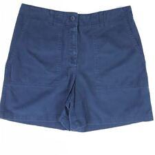 Jones New York Women sz 10 High Rise Vintage Short Pants Navy Blue