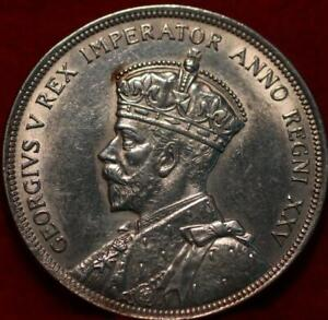 1935 Canada Silver One Dollar Foreign Coin