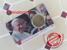 50 Cent Coincard Euro Vatican 2020 - Pape Francois N°11