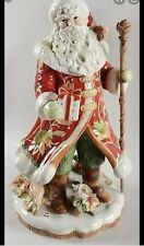 New ListingFitz And Floyd ' Bountiful Holiday ' Santa Large Figurine