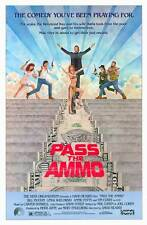 PASS THE AMMO Movie POSTER 27x40 Bill Paxton Tim Curry Linda Kozlowski Annie