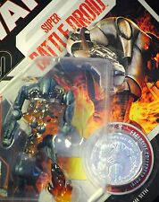 Star Wars 30th #08 ROTS Super Battle Droid w/ Flames MOC Figure w/ Coin