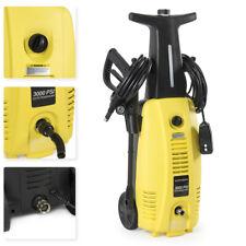 3000 PSI Burst Power Electric High Pressure Washer 2000 Watt Motor Jet Sprayer