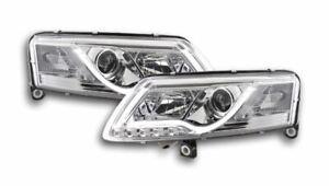 Audi A6 C6/4F 2004-2008 Clear LED DRL Daylight Running Headlights RHD P&P DHL