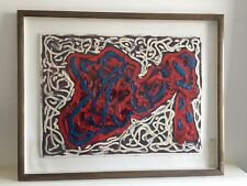 Andrew Southall - 'After Dubuffet 1991' - Framed Oil on Board