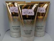 3 Bath & Body Works IN THE STARS Celestial Body Scrub 8 oz / 226g Each New Scent
