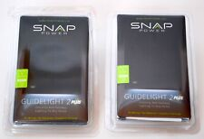 Snappower Guidelight 2 Plus (lot of 2) provides lighting under electrical outlet