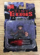 Cinema of Fear Tiny Terrors 2 inch Freddy Kreuger Action Figure by Mezco  sealed