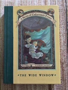 The Wide Window by Lemony Snicket ~ Bk 3 A Series Of Unfortunate Events ~ Hardco
