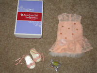 American Girl doll Shimmer Lace Dress new