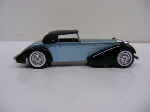 Matchbox Models Of Yesteryear Y17 1938 Hispano Suiza Black Guards Lesney
