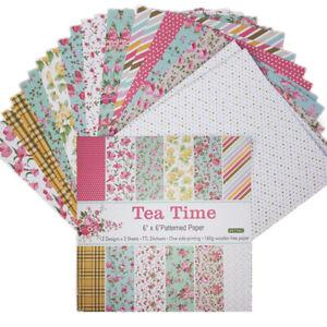 "12X 6"" Single-sided Paper Pad DIY Scrapbooking Photo Album Card Planner Decor"