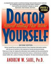 DOCTOR YOUR SELF - SAUL, ANDREW W./ HOFFER, ABRAM (FRW) - NEW PAPERBACK BOOK