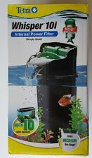 Tetra Whisper In-Tank Quiet Internal Filter 10i with BioScrubber 3 to 10 Gallon
