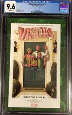 The Vision (2017) #1 CGC 9.6 Director's Cut Mike Del Mundo Regular Cover!