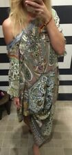 New £665 Camilla Franks Soul Sisters Long  Round Neck Kaftan LRNK O/S One Size