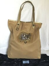 a70e694bc5b8 New listingPRADA Leather/Polyester Tote/Shoulder Bag / Handbag With  Dustbag, Made In Italy