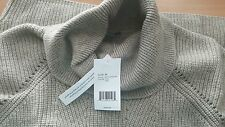 Vince NWT $365 Ribbed Wool & Cashmere Blend Cowl Neck Tunic sweater top M