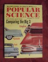POPULAR SCIENCE Magazine November 1958 BIG 3 Auto Makers Chevrolet Plymouth Ford