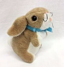 "The Rushton Company Bunny Rabbit 8"" Plush Brown Tan White Stuffed Animal Vintage"