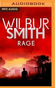 Wilbur Smith RAGE Unabridged MP3-CD 29 Hours *NEW* FREE Shipping!