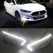 DRL Led daytime running light fog lamp cover Fit for Ford Mondeo Fusion 2013-15