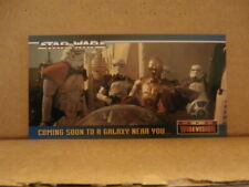 1994 Topps Star Wars Widevision Promo Card SWP1 Not The Droids Youre Looking For