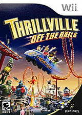 Thrillville: Off the Rails (Nintendo Wii, 2007)      DISC ONLY     FAST SHIPPING