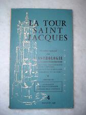 1956 - Numero Speciale sull' ASTROLOGIA - La Tour Saint Jacques - Rivista Revue