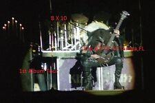 Kiss 1974 Gene Simmons 8 X 10 Color Photo Tampa,FL 1st Lp Tour Curtis Hixon Hall