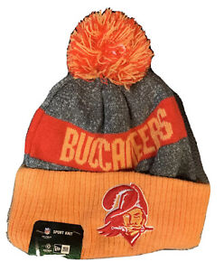 New Rare 2016 New Era Tampa Bay Buccaneers Throwback Sideline Beanie With Tag