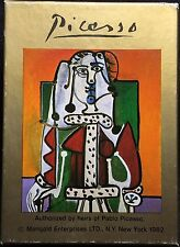 Artist Pablo Picasso Limited Heirs Edition Sealed Poker Wide vTg Playing Cards