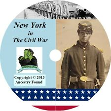NEW YORK Civil War Books History & Genealogy 112 Books on DVD